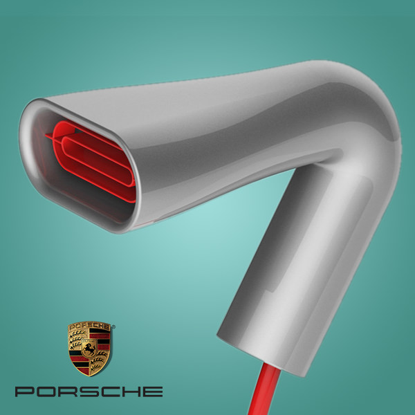 After automobiles - Porsche's Class in a Hair Dryer is no less